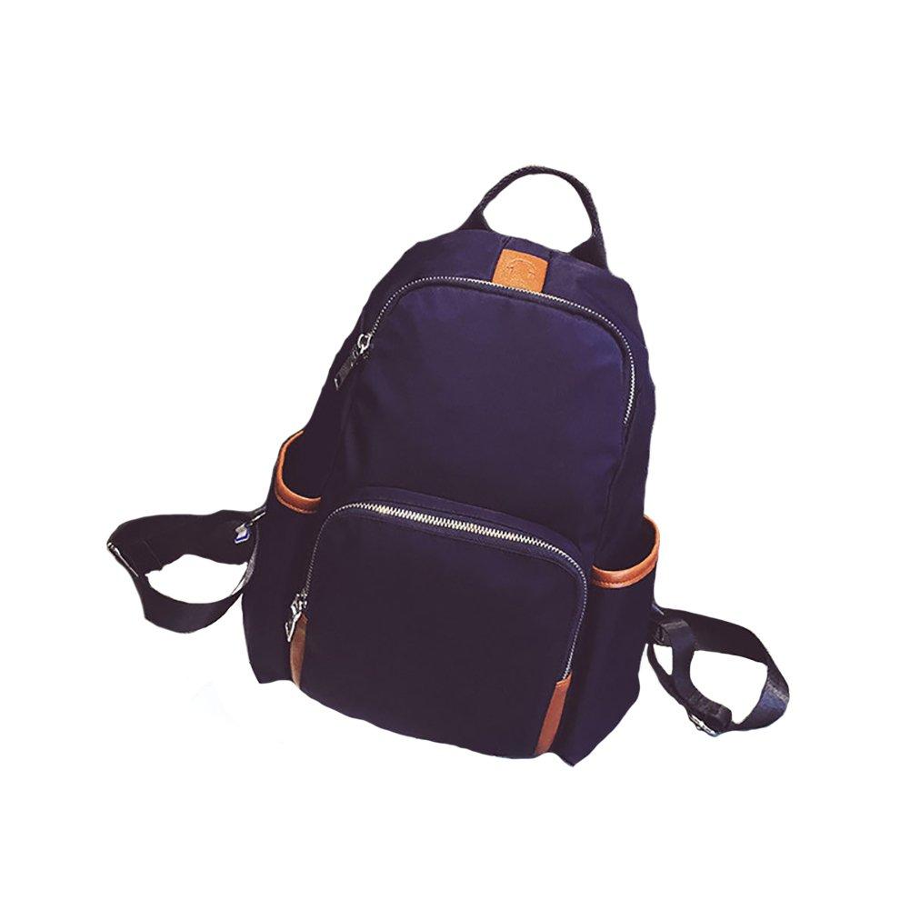 ThinkMax Teenage Girls Women Casual Waterproof Nylon Backpack Students School Bag Double Shoulder Backpack