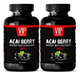 Product review for Acai berry detox belly buster - ACAI BERRY SUPER ANTIOXIDANT EXTRACT 1200 MG - Energy booster- 2 Bottles 120 Capsules