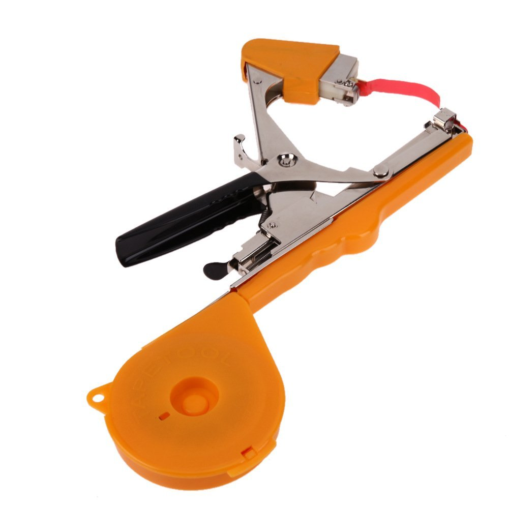 COOCLE Tapetool Bind Branch Machine Gardening Tool Tapener Stem Strapping Packing for Vegetable Potted Plants Tying Machine