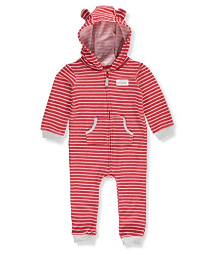 Carter's Baby Boys' Hooded Bear Jumpsuit 3 Months