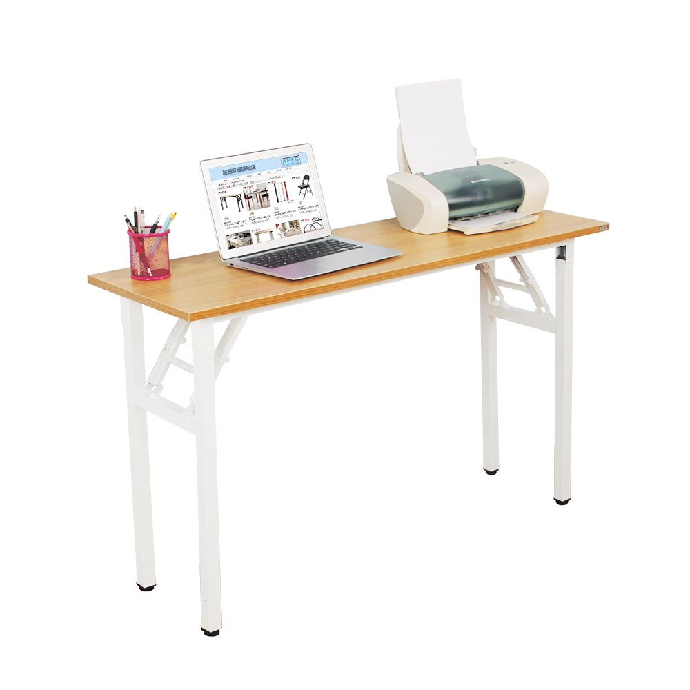 Need Computer Desk 47L15.7W Computer Table Writing Desk Folding Table Office Desk, AC5BW-40