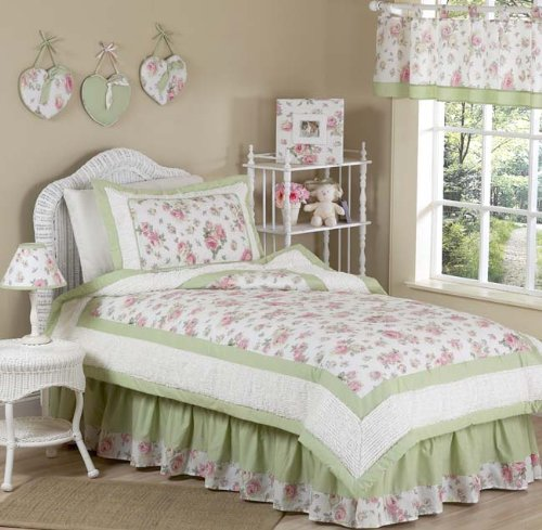 Rileys Roses Toddler Bedding - 8