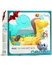 Ange Baby Teether Toys Set   Horse Teether and Baby Carrier Toy Teether   Set Of 2   BPA-Free Dishware Safe