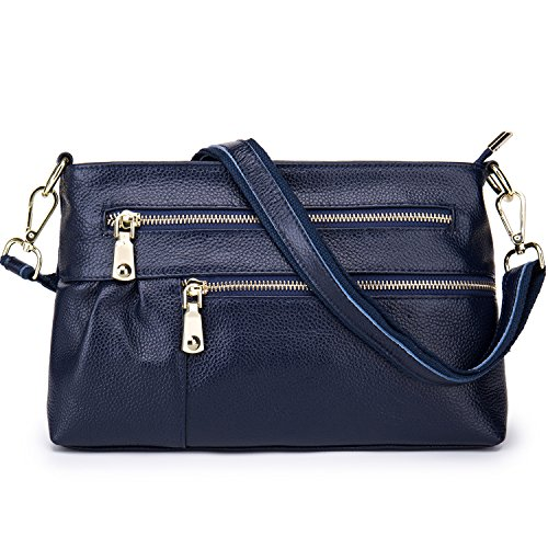 Lecxci Multi purpose Leather Shoulder Handbags