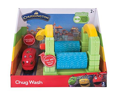 Chuggington Chug Wash Train Set (Chug Little Train)