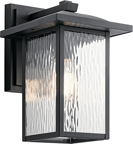 Kichler Lighting 49925BKT Outdoor Wall Mount, Textured Black