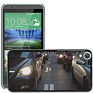 Hot Style Cell Phone PC Hard Case Cover // M00171217 Cars Traffic Vehicles Drive Driving // HTC Desire 820