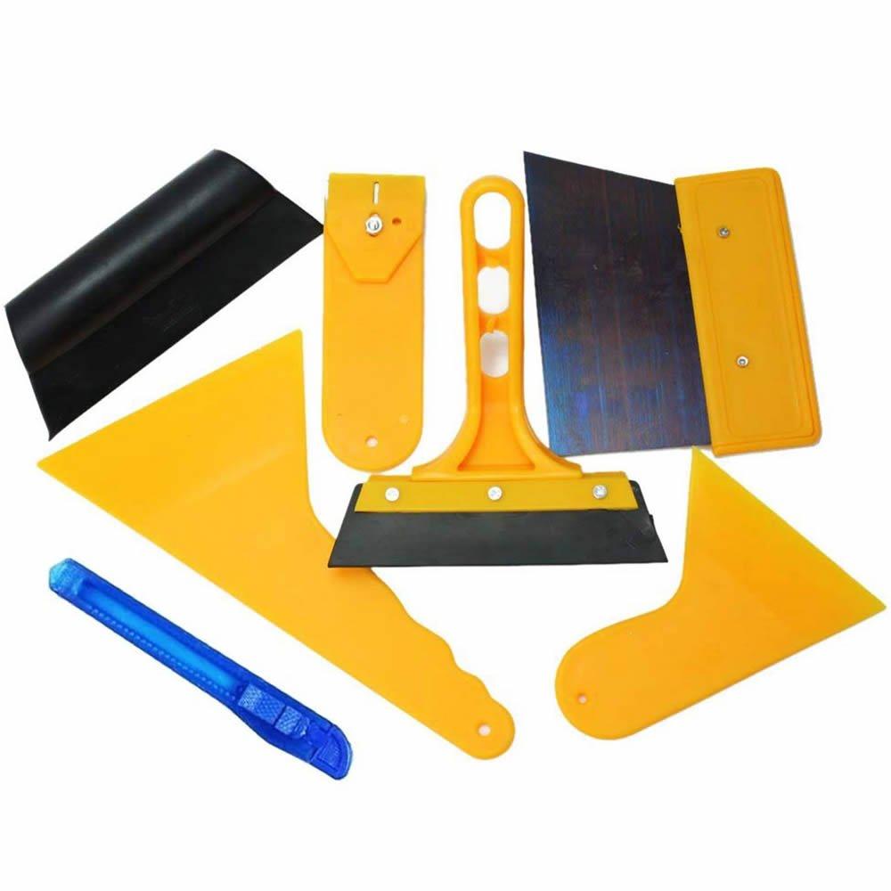 Jazooli 7pc Car Van Window Tinting Tool Kit Application Set for Tinting Film Glass