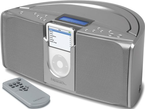 Emerson Ipod Portable Audio - Emerson iTone iP550 Portable Stereo System for iPods (Silver)