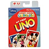 Mickey Mouse Clubhouse My First Uno Card Game