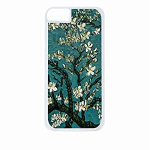 Vincent Van Gogh's Almond Blossoms- Hard White Plastic Snap - On Case-Apple Iphone 5 - 5s - Great Quality!
