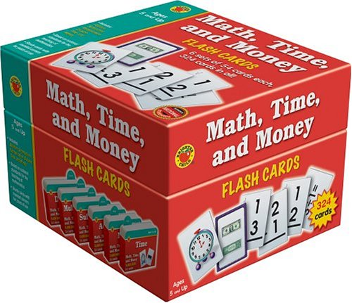 Download Math, Time, and Money Flash Cards (Brighter Child Boxed Sets) ebook