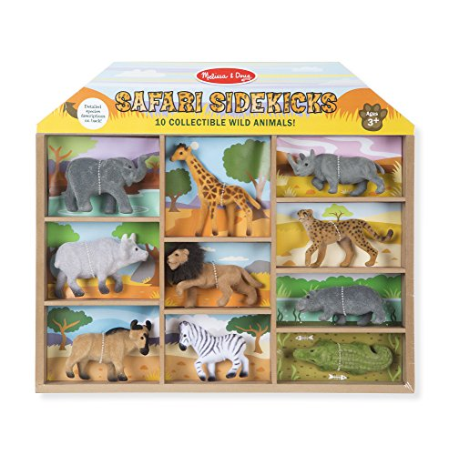 Melissa & Doug Safari Sidekicks Classic Play Sets ()