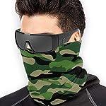 Belongtu Écharpe Military Pattern Headband Face Cover Bandana Head Wrap Scarf Neck Warmer Headwear Balaclava for Cold… 7