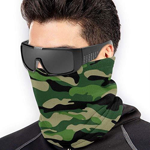 Belongtu Écharpe Military Pattern Headband Face Cover Bandana Head Wrap Scarf Neck Warmer Headwear Balaclava for Cold… 2