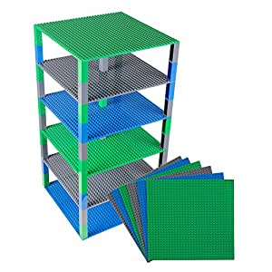 "Classic Baseplates 10"" x 10"" Brik Tower by Strictly Briks 