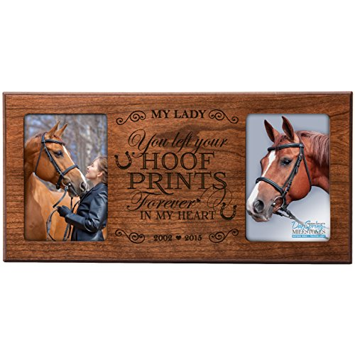Horse Memorial Picture Frames | Kritters in the Mailbox