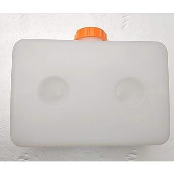 Lorenlli Depósito de Combustible de plástico Caja de Almacenamiento de Aceite de Gasolina multifunción portátil Universal