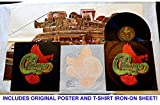 Chicago VIII (CH8A) LP Album - Columbia Records 1974 - With Original Poster And T-Shirt Heat Transfer - Old Days - Harry Truman - RARE THE ONLY ONE ON AMAZON!