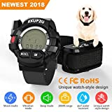 KKUP2U Dog Training Collar, Dog Shock Collar Beep/Vibration/Shock Electronic Collar, Rechargeable Remote IPX7 Waterproof 1000 Foot Range (10-120 LBS)