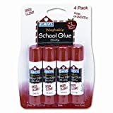 Washable All Purpose School Glue Sticks (4 Pack) [Set of 3]