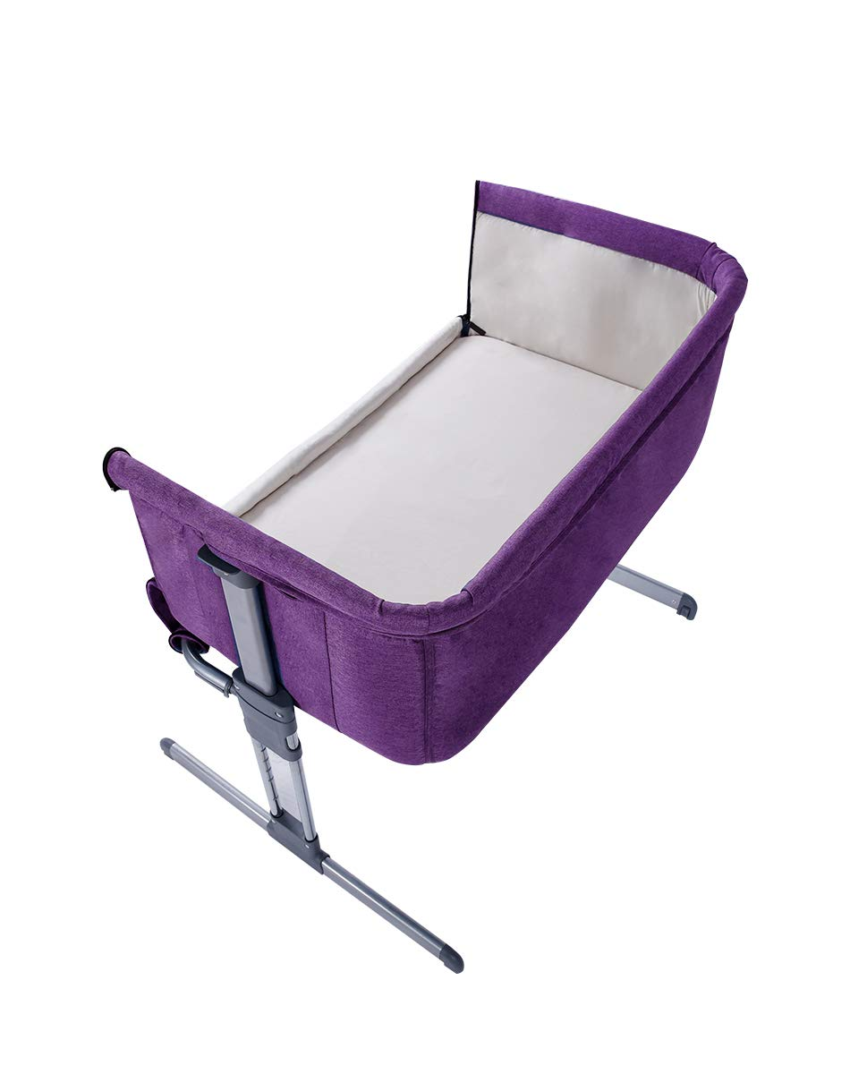 c3dcc0049d Pouch Baby Portable Bed Connected with Parents  Normal Big Bed Infant  Travel Sleeper Portable Cot Breathable Folding Crib  Amazon.co.uk  Baby