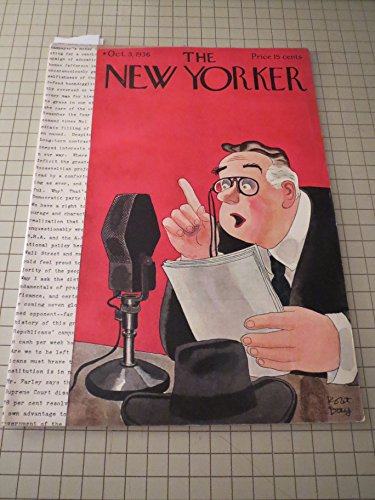 Oct.3,1936 The New Yorker Magazine: Baseball Cartoon - James Thurber - Harriett Brownell (Poem) - Jack Alexander - That Was New York:Annie Peck & Popocatepetl - Lewis Mumford - Polo:A Cup for Argentina - Current Cinema: