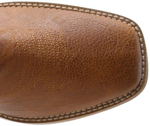 Touwslager Heren Basic Vierkante Neus Western Boot Tan