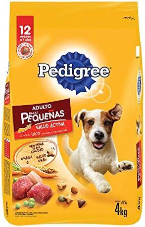 PEDIGREE Alimento para Perros Adultos de Razas Pequeñas 4kg 2