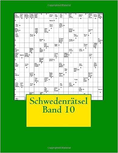Schwedenrätsel Band 10