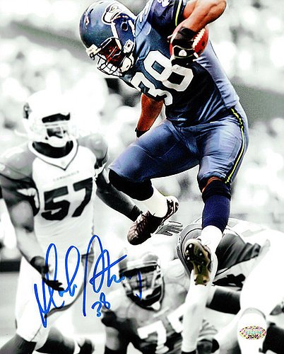 Mack Strong Signed 8x10 Photo Seattle Seahawks - Autographed NFL Football Photos