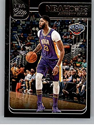 big sale 4c731 fa71e Amazon.com: 2018-19 Panini Hoops NBA City #6 Anthony Davis ...