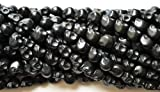 10 Black Howlite Skull Beads (Loose) - Day of the Dead (Dia De Los Muertos) - Goth