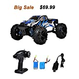 Image of RC Car, Distianert 9300 Electric RC Car Offroad Remote Control Car RC Monster Truck RTR 1:18 Scale 2.4Ghz 4WD High Speed 30MPH with 2 Rechargeable Batteries