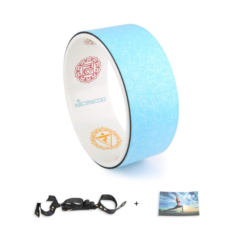 Liu Sensen Yoga Wheel Das Stärkste Und Bequemste Dharma Rad Yoga Assist Wheel Ideal Für Dehnungen Und Flexibilität. Größe 32  13Cm