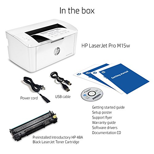 HP LaserJet Pro M15w Wireless Laser Printer (W2G51A) by HP (Image #4)