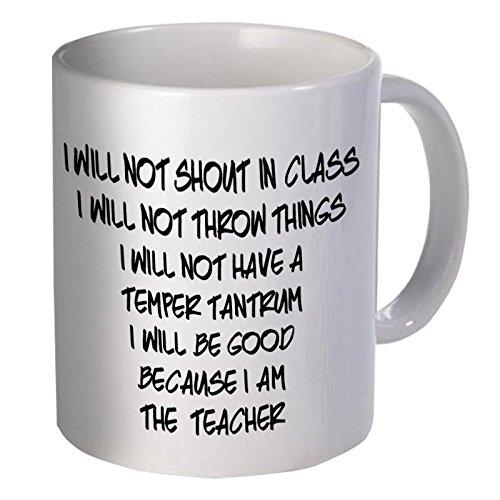 Evplkigir 11OZ Coffee Mug - Good Teacher, School Willcallyou.]()