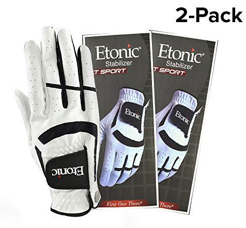 Etonic Golf- MRH Stabilizer F1T Sport Glove (2 Pack) ()