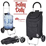 Best Grocery Carts - Trolley Dolly, Black Shopping Grocery Foldable Cart Review
