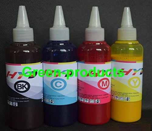 InkrefillableTM 400 ml Pigment sublimation bulk ink for Epson printer cartridges 60 68 69 73 88 124 125 126 127 200 220 252