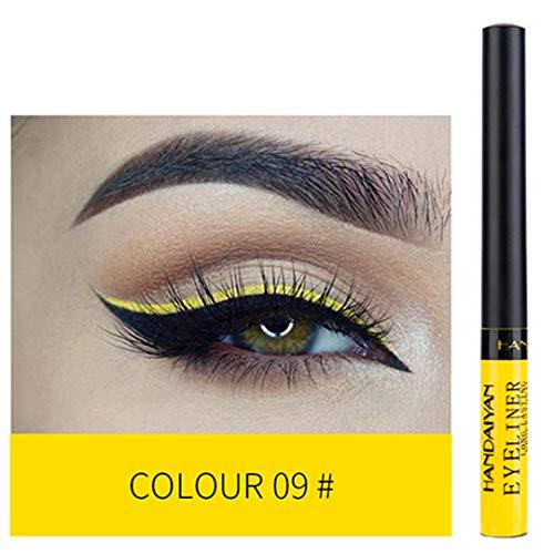 MEIJILI Matte Liquid Eyeliner Eyes Makeup Waterproof Liner White Blue Purple Eye Liner Liquid For Party Cosmetics Eyeliner 09 -