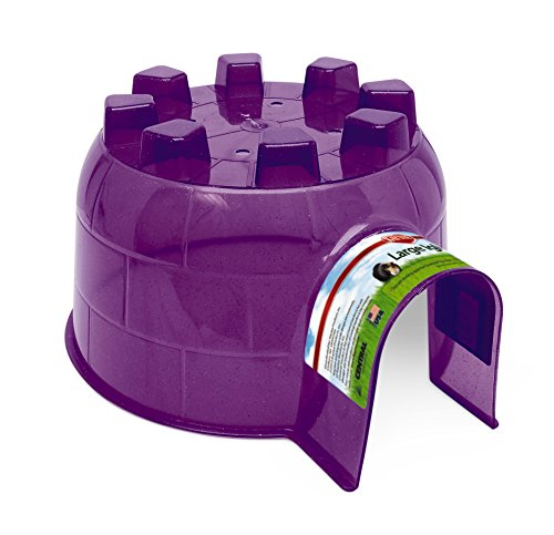 Kaytee Igloo Pet Rat Hideout, Large