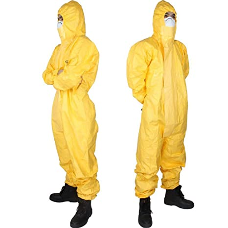 AF ES Ropa de Protección Química, Resistente a Ácidos y ...