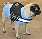 DT-Works-Harness-Service-Dog-BlackWhite-Large-Fits-Girth-Size-34-Inch-to-47-Inch