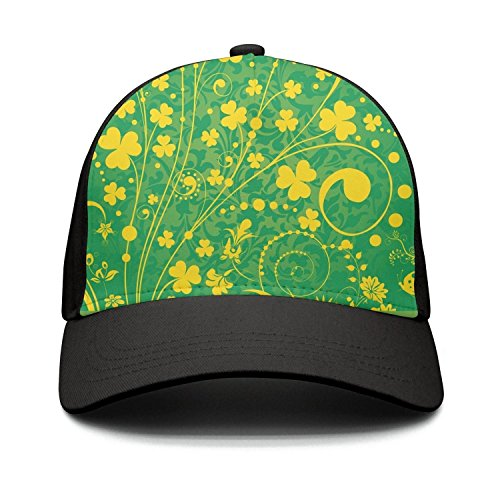 Casual Baseball Caps St. Patrick's Day Background New Adjust