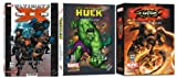 MARVEL Comics 3 Pack Bundle - Hulk, Ultimate X-Men & Ghost Rider Collectors Editions DVD-ROM