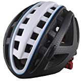 Generic Unisex Bike Helmet with Adjustable Regulator and Washable Chin Pad Durable Impact-Resistant Shell Protect Gear for Mountain Bike Racing Cycling HL