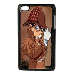 iPod Touch 4 Phone Case Black Detective Conan WQ5RT7524328