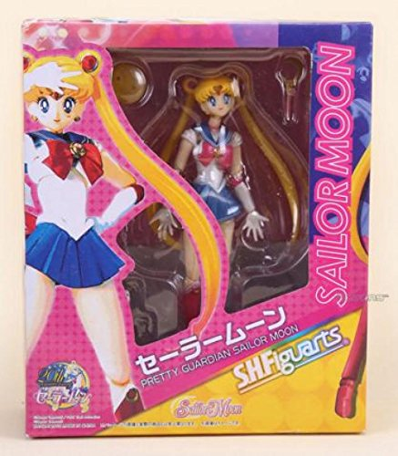 15cm 6inches Japanese Anime Sailor Moon Mercury Mars Venus PVC Action Figure Toydukke Figur helte (Sailor Moon)