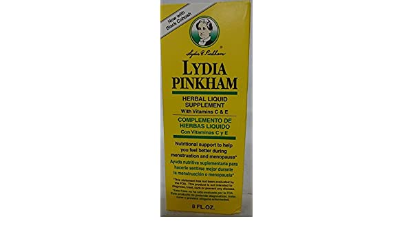 Amazon.com: Lydia Pinkham Herbal Compounding Liquid 8 oz. (3 Pack): Health & Personal Care
